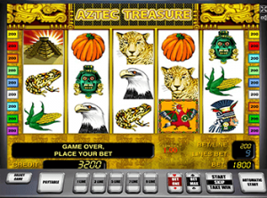 В клубе Адмирал Aztec Treasure