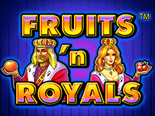 Fruits And Royals - автоматы от Адмирал