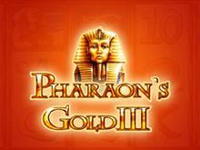 Pharaohs Gold III - игровые автоматы на деньги