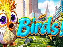 Игровой автомат Птички! онлайн с Вулкан