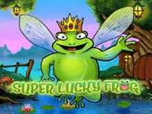 Играть онлайн в Удачливая Лягушка на деньги